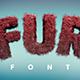 Fur Font