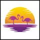 Flamingos Logo