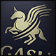 Pegasus Horse Logo