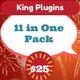 King Media Big Combo Pack