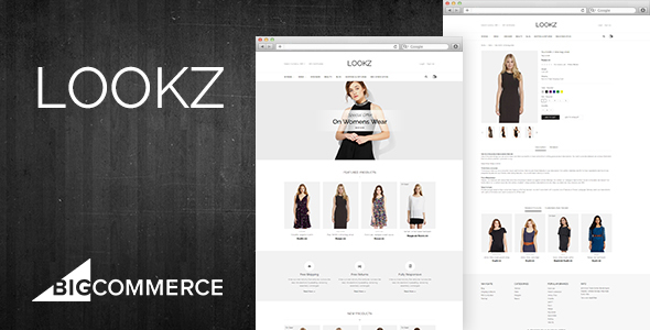 Lookz - Multipurpose Stencil BigCommerce Theme