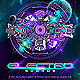 Electro Sounds Futuristic Party Flyer