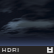 High Resolution Night Sky HDRi Map 002