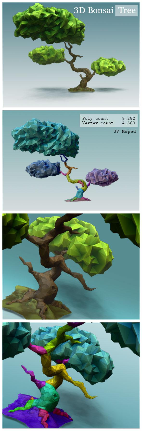 3DOcean Bonsai Tree 19937424