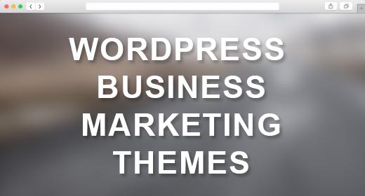 WordPress Landing Page - Marketing Themes