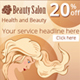 Web Banners Set for Beauty Salon