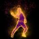 Hip Hop Particles Dancer