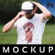 Men T-shirts Mockups