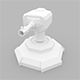 Lowpoly Turret Cannon