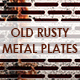 Old Rusty Metal Plates