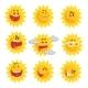 Cartoon Sun Emojis