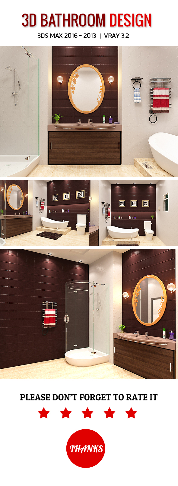 3DOcean 3D Bathroom Design 2 19939598