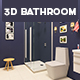3D Bathroom Design 3