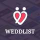 Weddlist - Wedding Vendor Directory PSD Template