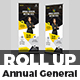 Annual General Meeting Roll-Up Banner