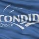 Waving National Flag of Escondido City, California
