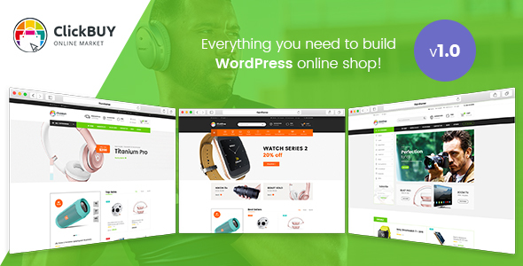 Image of ClickBuy - Multi Store Responsive WordPress Theme