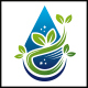 Clean Water Logo Template