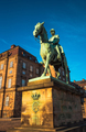 Equestrian statue of King Christian the 9th Copenhagen Denmark
