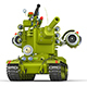 Cartoon Super Tank