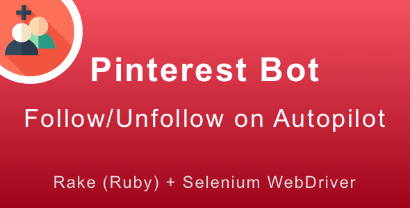 CodeCanyon Pinterest Follow Bot Grow Your Followers on Autopilot 19941978
