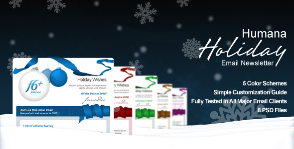 Humana - Holiday Greetings/Email Newsletter
