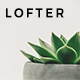 Lofter - Minimal Blog Theme