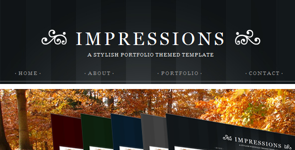 ThemeForest Impressions HTML version 71621