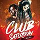 Club Saturday Flyer