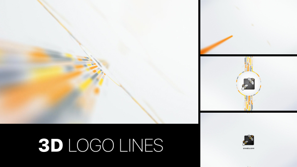 3D Logo Lines (Abstract) After Effects Templates | F5-Design com