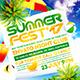 Summer Escape Party Flyer vol.8