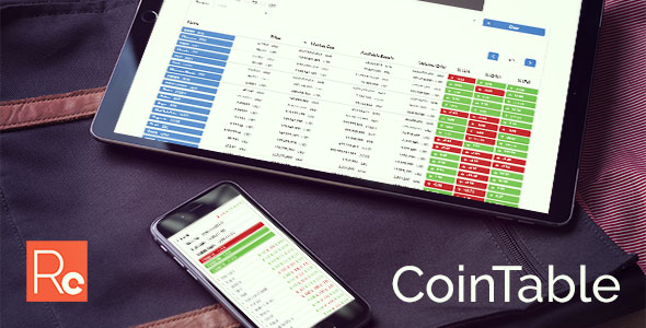 Coin Table – Complete Cryptocurrency Marketplace Responsive Web page (Search)