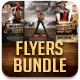 Western Party Flyers Bundle