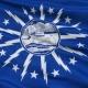Waving National Flag of  Buffalo City