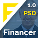 Financer | Finance & Business PSD Template