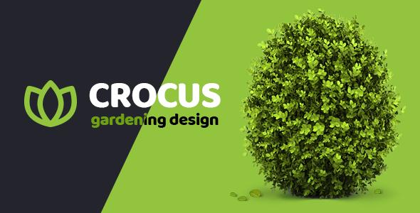Garden and Landscape Design Company | Crocus Gardening  HTML Template