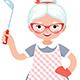 Senior Lady Cook