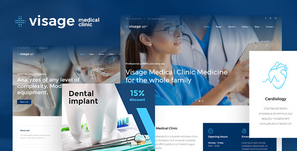 Download Visage | Medical & Health WordPress Theme