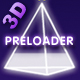 3D Rotating Pyramid Preloader - ActiveDen Item for Sale