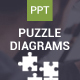 Puzzle Diagram - Powerpoint