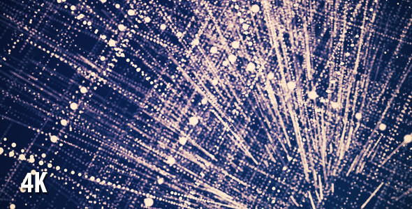 VideoHive Abstract Particle Grid Purple Background 19950788