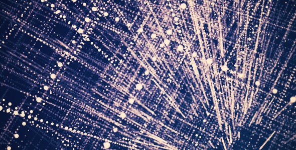 VideoHive Abstract Particle Grid Purple Background 19950804