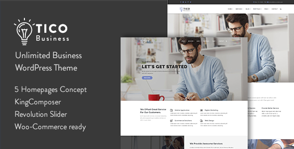 Tico - Responsive Business WordPress Theme