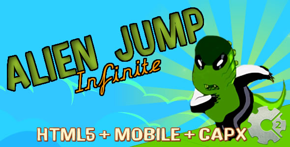 Alien Jump - Run Infinite (.capx)