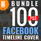 100 Facebook Timeline Cover Bundle