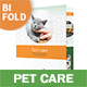 Pet Care Bifold / Halffold Brochure 6