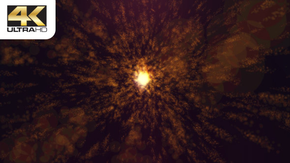 VideoHive Particle Atmsophere Space Gold Red 19952133