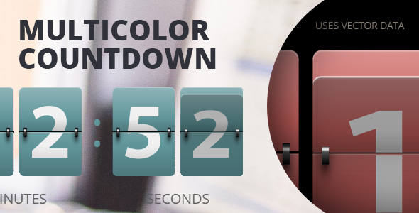 preview590 WP: Resizable Multicolor Countdown (Utilities)