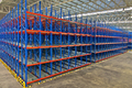 Warehouse  Shelving Storage Inside of Metal Pallet Racking Systems