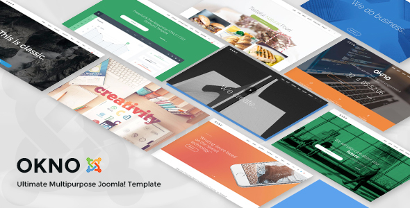 Okno - Ultimate Multipurpose Joomla Template